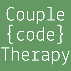 Couple code therapy logo
